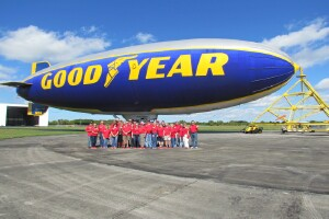 2015 Goodyear Blimp Saturday January 17, 2015