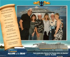 2015 Allure of the Seas Cruise